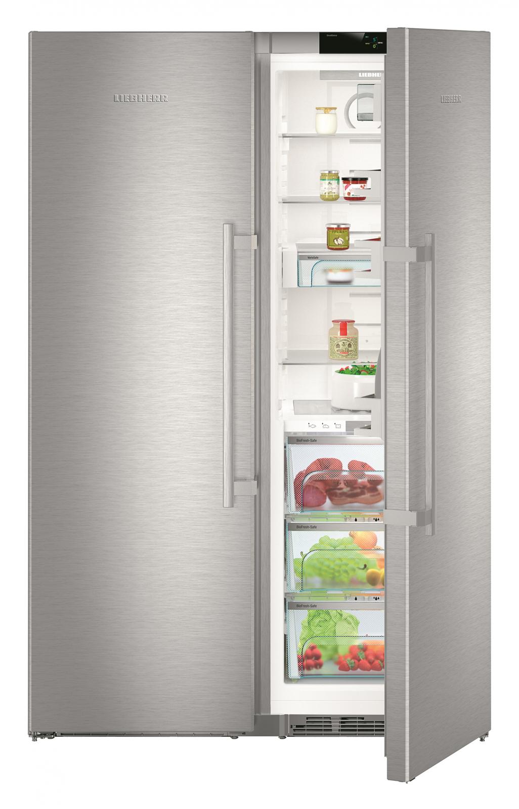 купить Side-by-Side холодильник Liebherr SBSes 8663 Украина фото 3