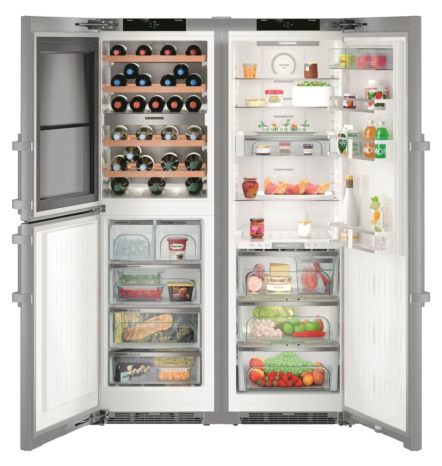 Side-by-Side холодильник Liebherr SBSes 8486 купить украина