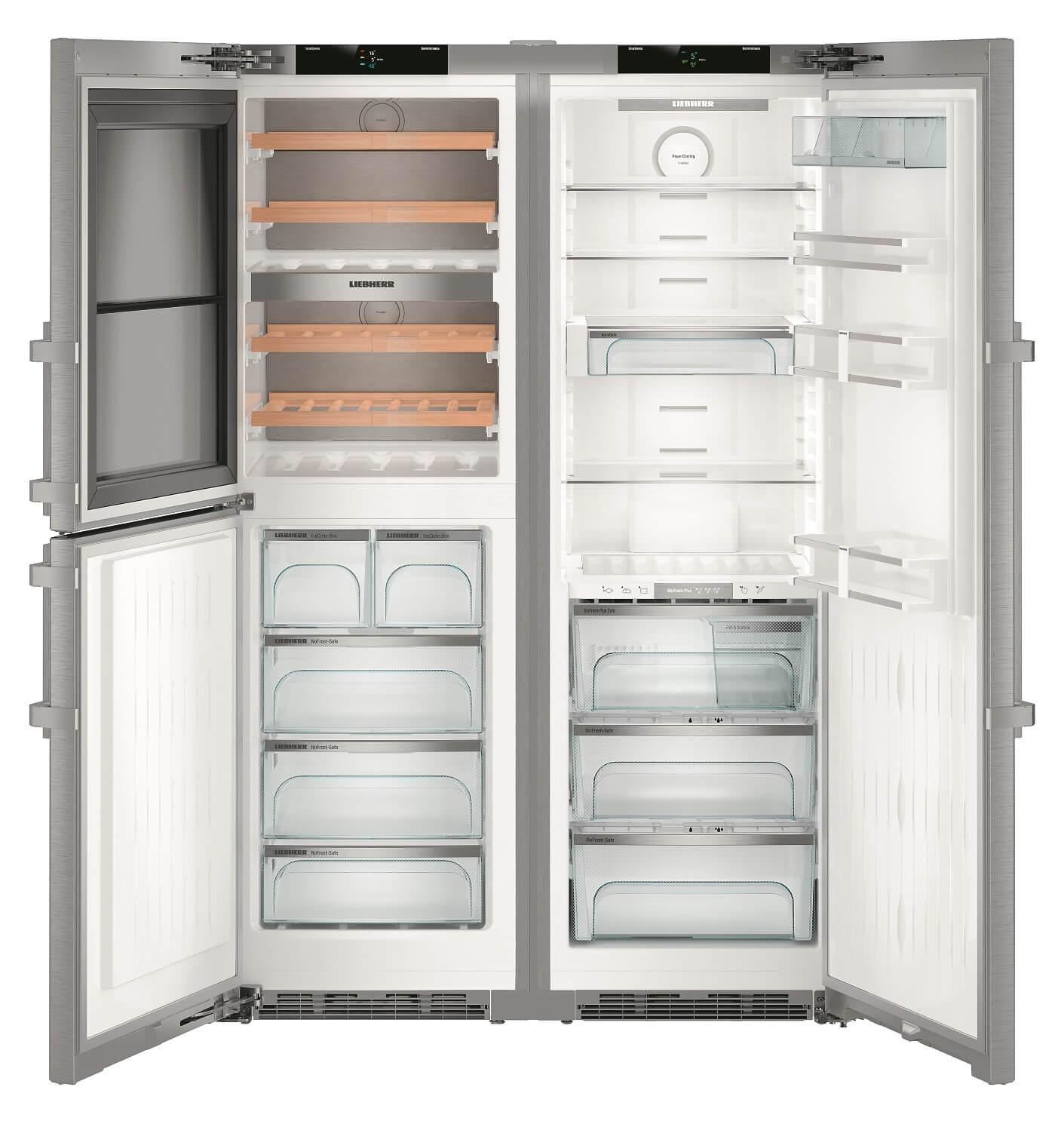купить Side-by-Side холодильник Liebherr SBSes 8486 Украина фото 4
