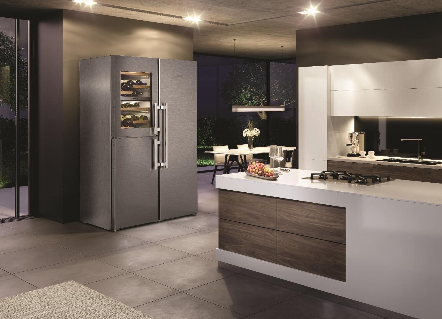 купить Side-by-Side холодильник Liebherr SBSes 8486 Украина фото 7