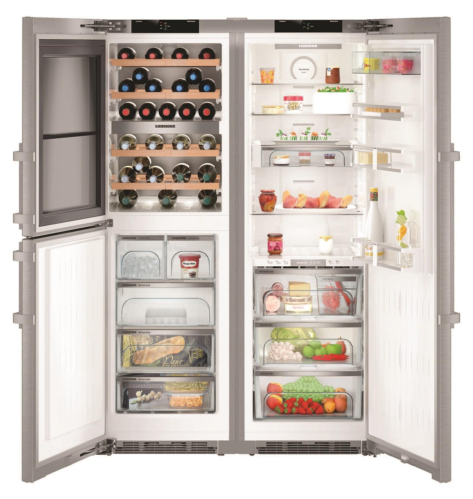 Side-by-Side холодильник Liebherr SBSes 8496 купить украина