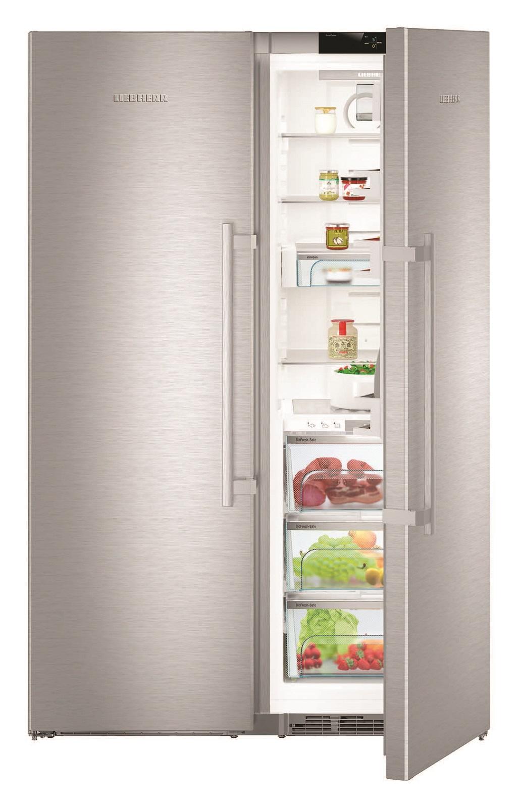 купить Side-by-Side холодильник Liebherr SBSes 8773 Украина фото 2