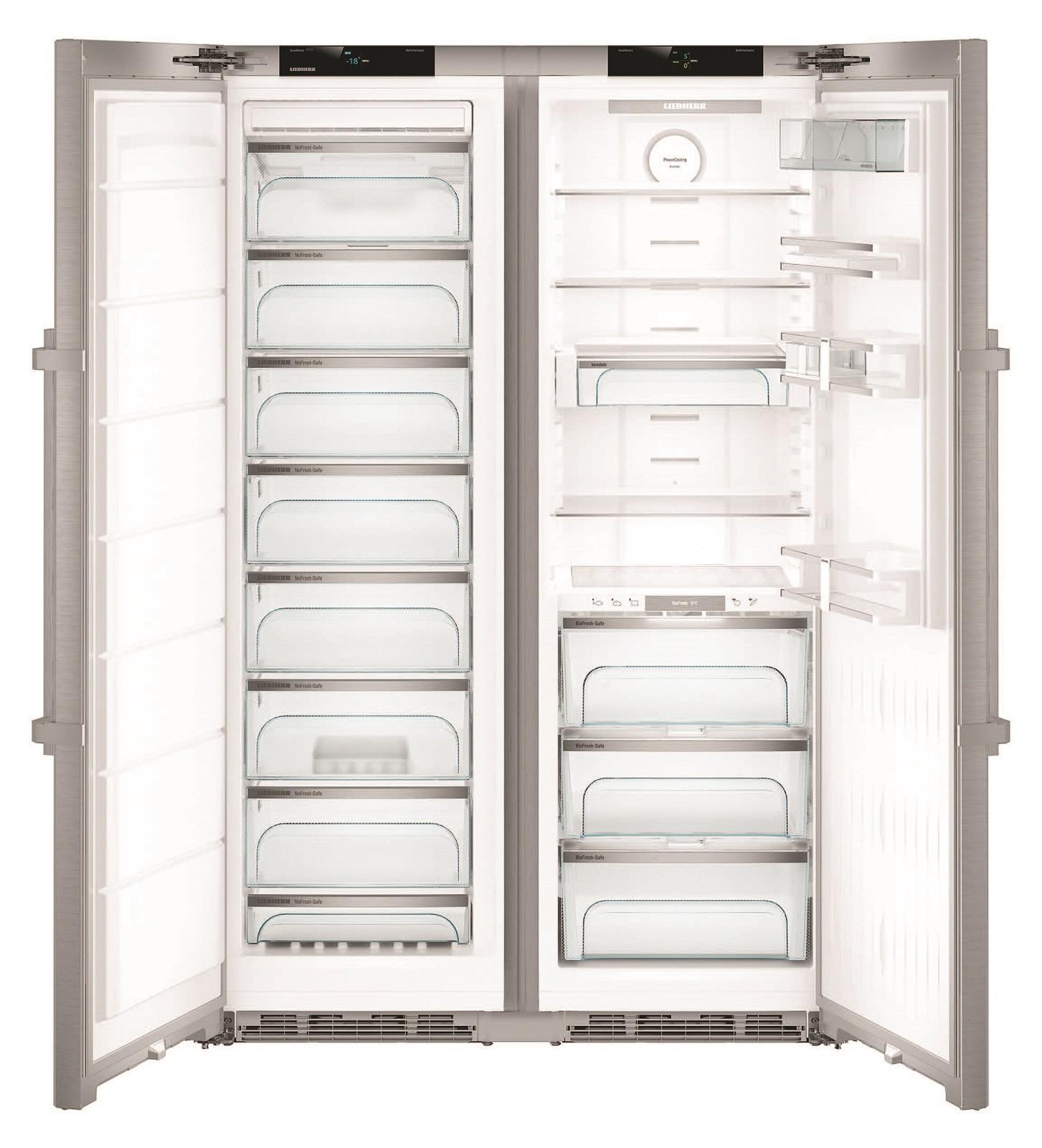купить Side-by-Side холодильник Liebherr SBSes 8773 Украина фото 1