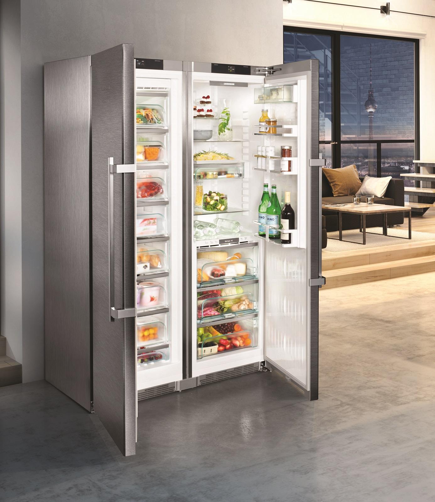 купить Side-by-Side холодильник Liebherr SBSes 8773 Украина фото 4
