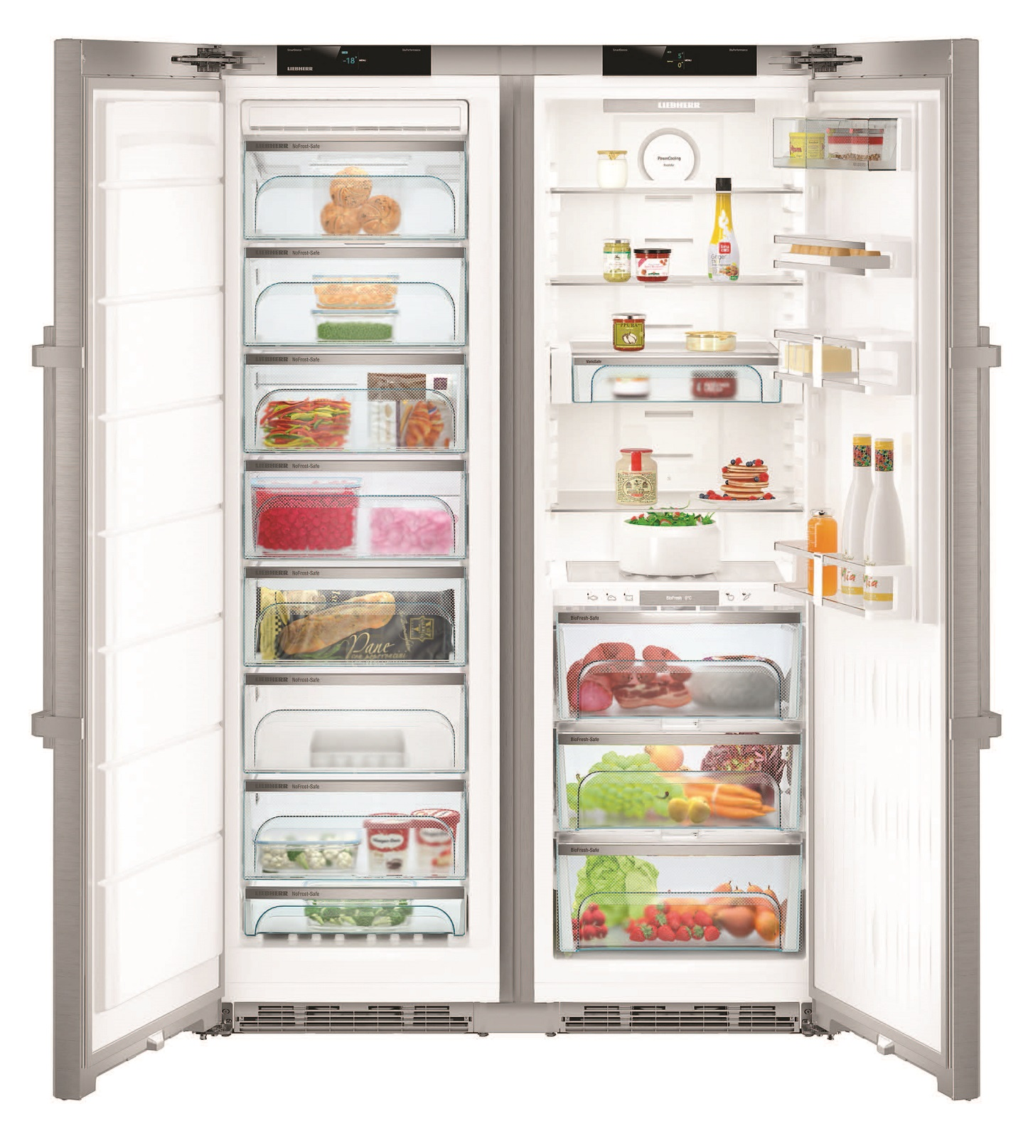 Side-by-Side холодильник Liebherr SBSes 8773 купить украина