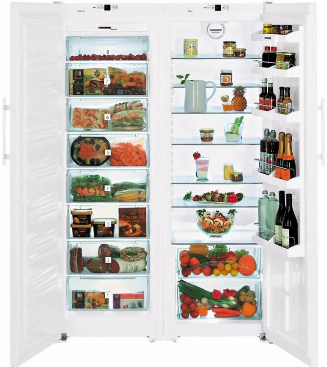 купить Side-by-side холодильник Liebherr SBS 6352 Украина фото 0