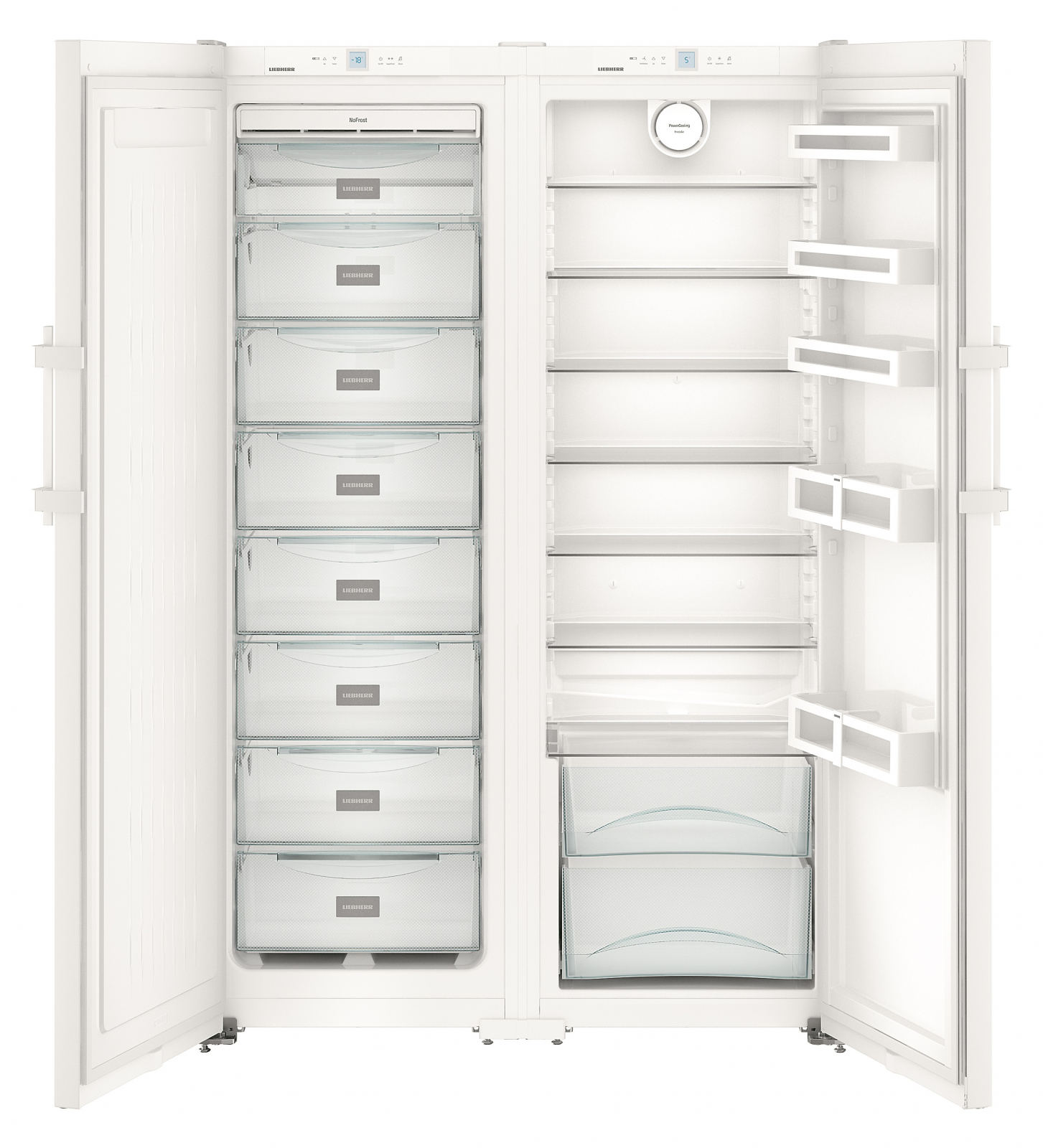 купить Side-by-side холодильник Liebherr SBS 7242 Украина фото 3