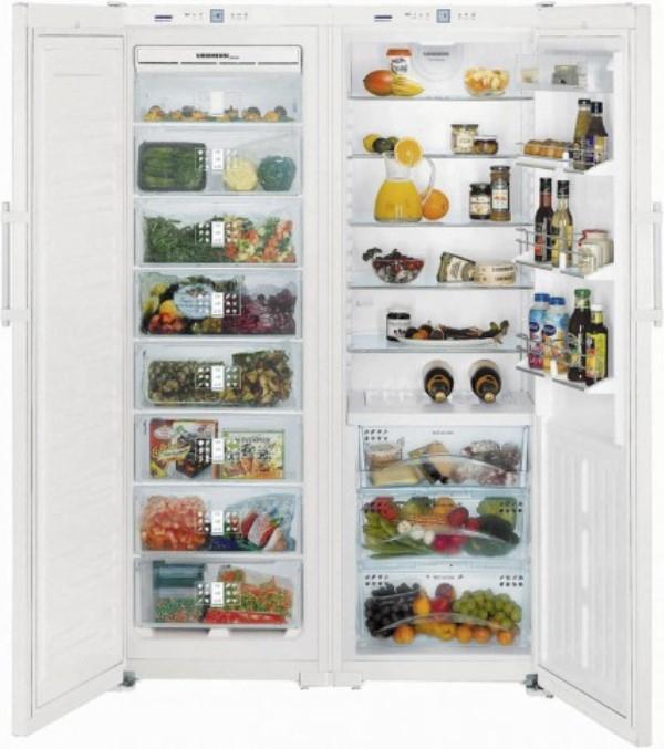 купить Side-by-side холодильник Liebherr SBS 7253 Украина фото 0