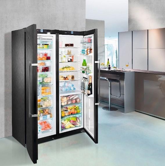купить Side-by-Side холодильник Liebherr SBSbs 7263 Украина фото 2