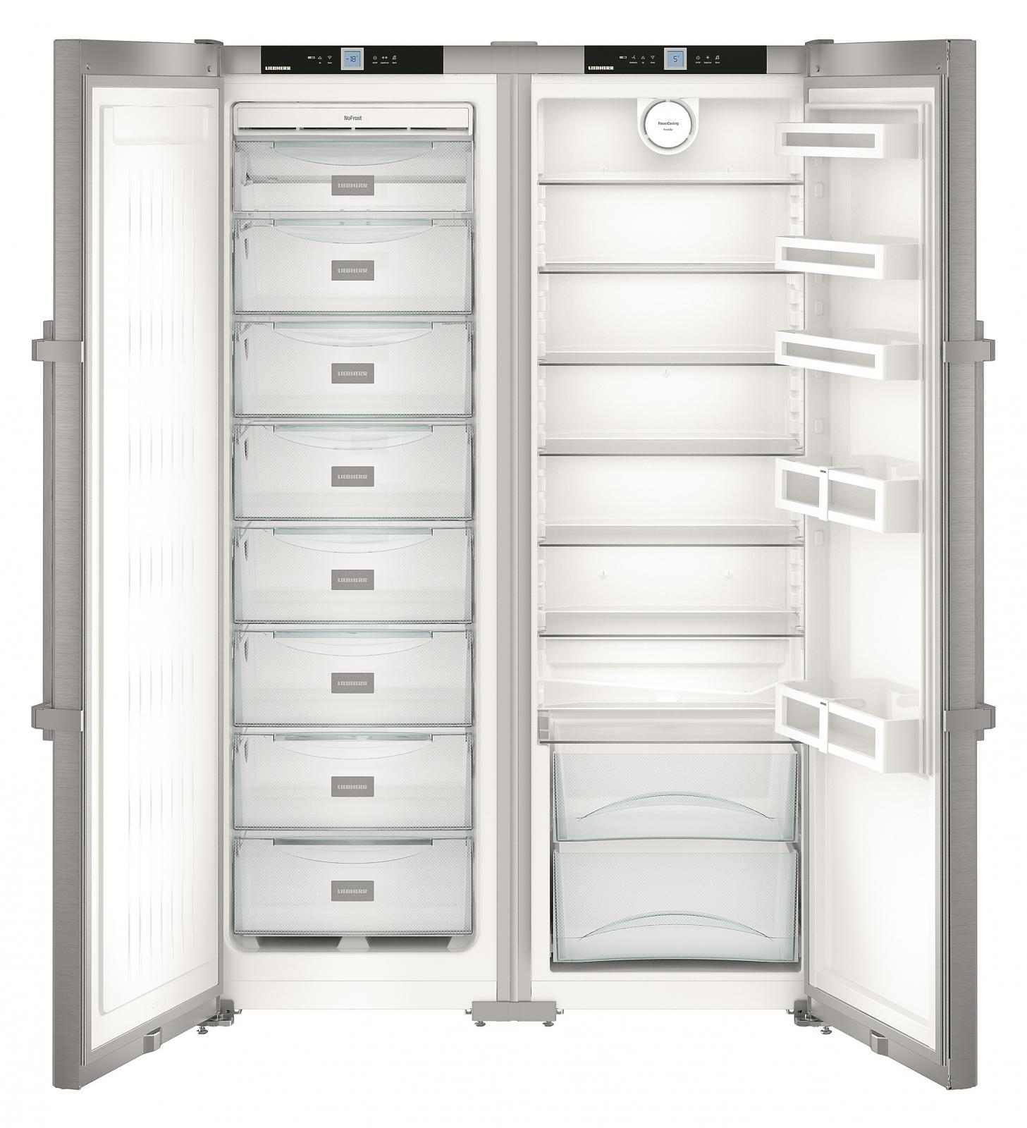 купить Side-by-side холодильник Liebherr SBSef 7242 Украина фото 2