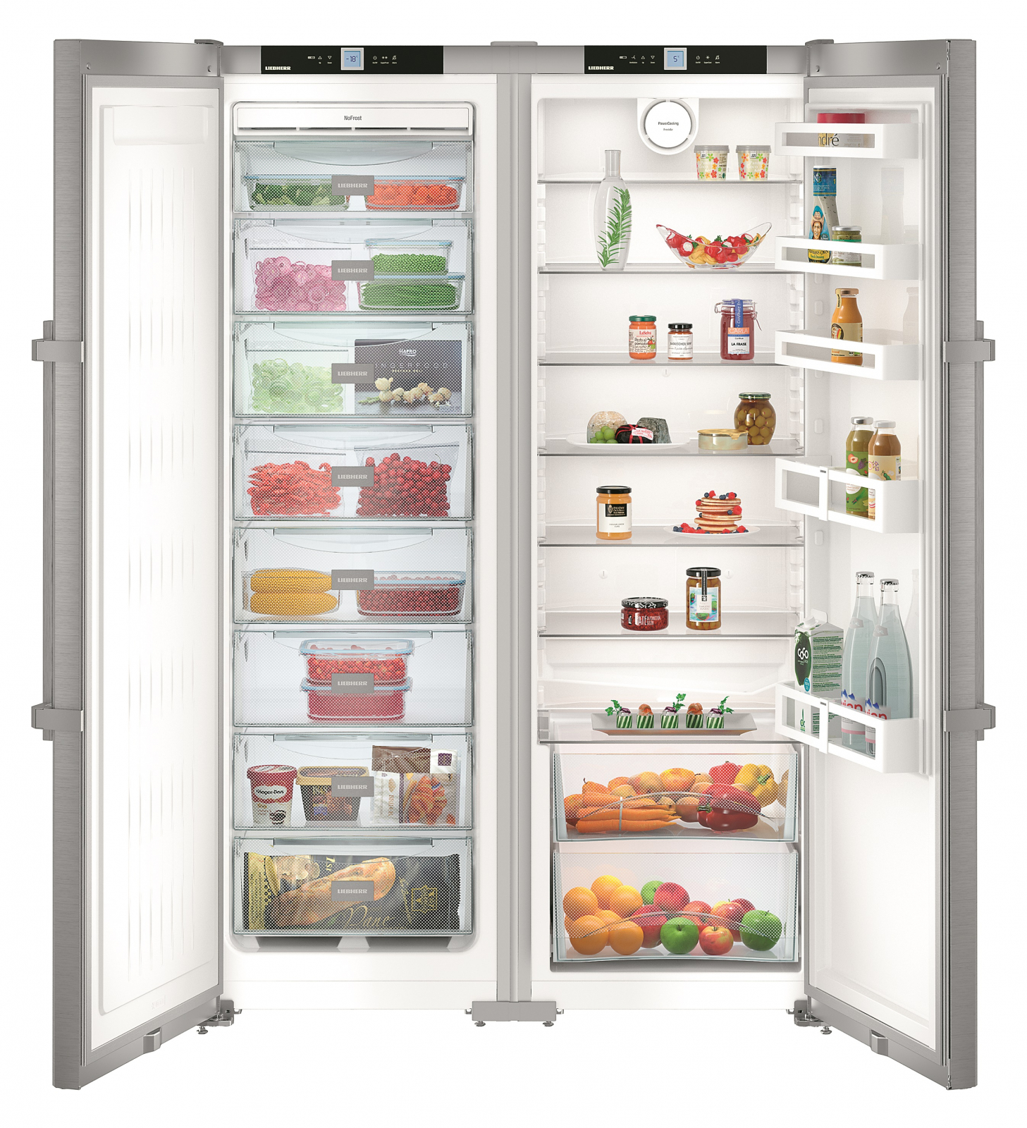 Side-by-side холодильник Liebherr SBSef 7242 купить украина