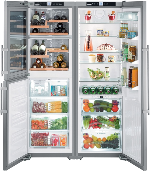 купить Side-by-Side холодильник Liebherr SBSes 7165 Украина фото 0