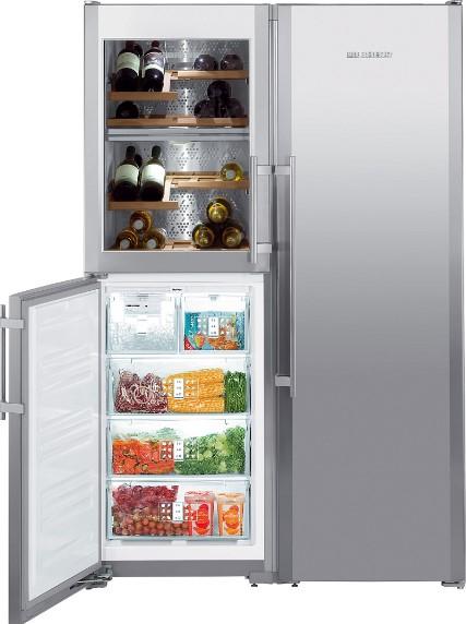 купить Side-by-Side холодильник Liebherr SBSes 7165 Украина фото 3