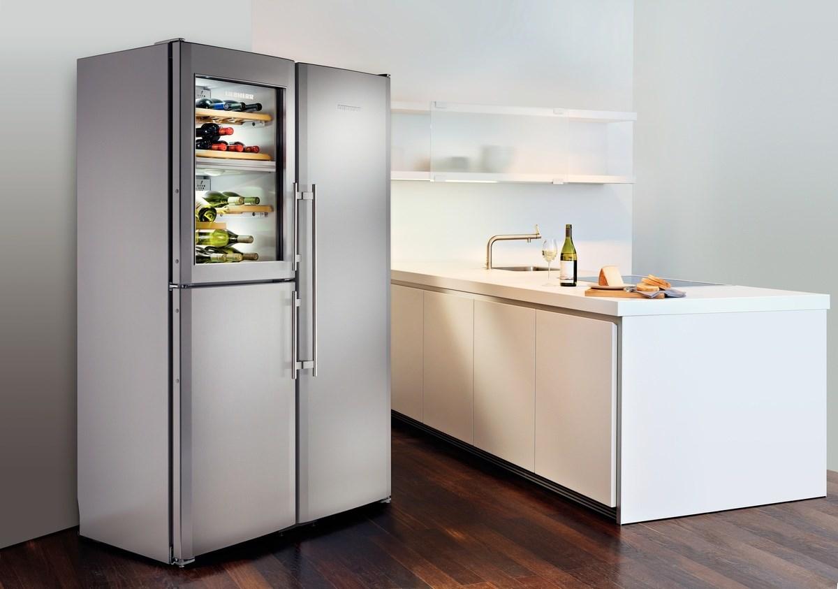 купить Side-by-Side холодильник Liebherr SBSes 7165 Украина фото 6
