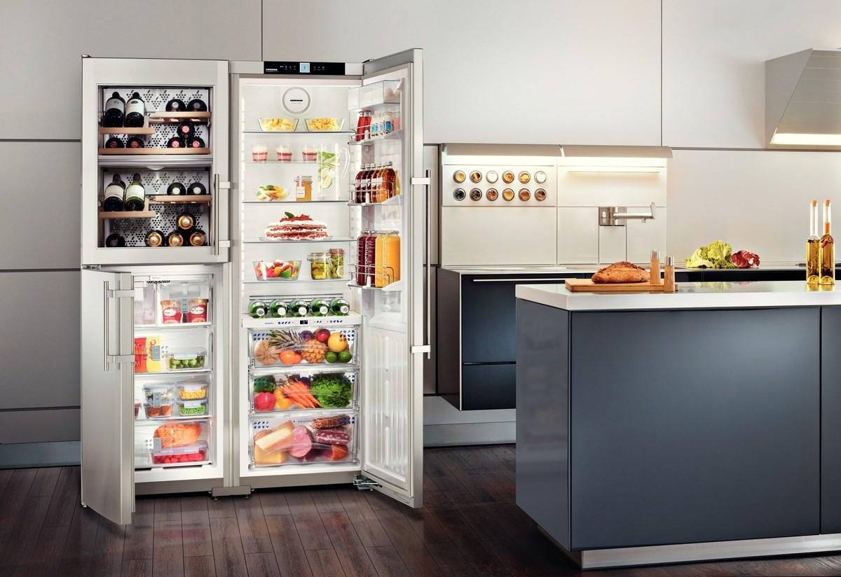 купить Side-by-Side холодильник Liebherr SBSes 7165 Украина фото 7