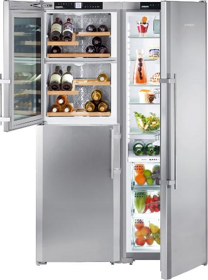 купить Side-by-Side холодильник Liebherr SBSes 7165 Украина фото 1