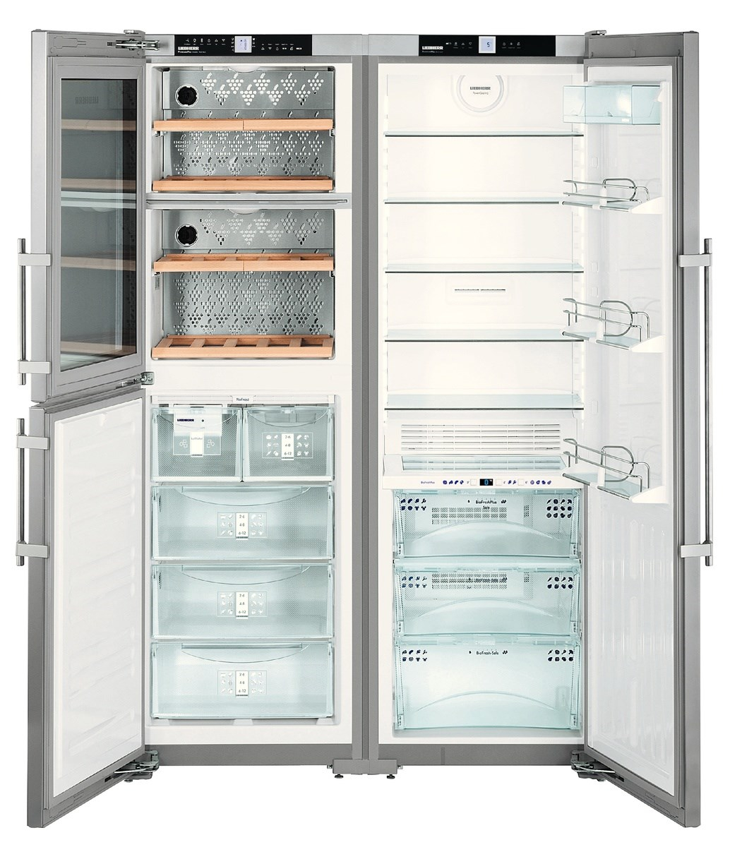 купить Side-by-Side холодильник Liebherr SBSes 7165 Украина фото 5