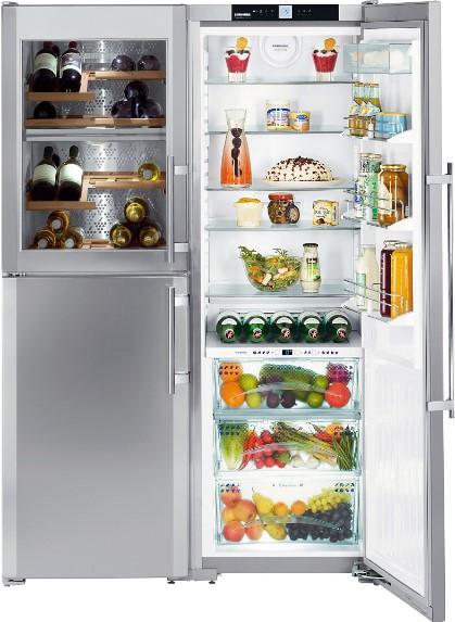 купить Side-by-Side холодильник Liebherr SBSes 7165 Украина фото 2