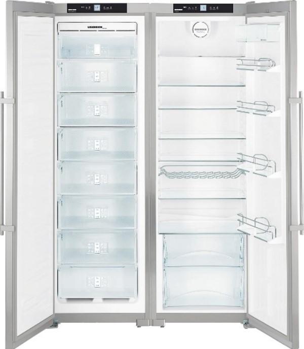 купить Side-by-Side холодильник Liebherr SBSes 7252 Украина фото 3