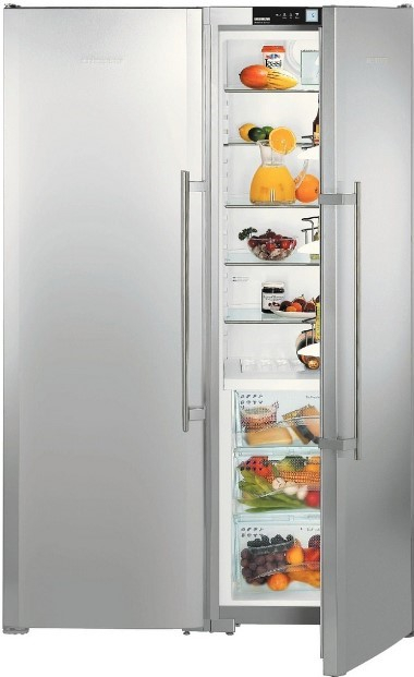 купить Side-by-side холодильник Liebherr SBSes 7253 Украина фото 2