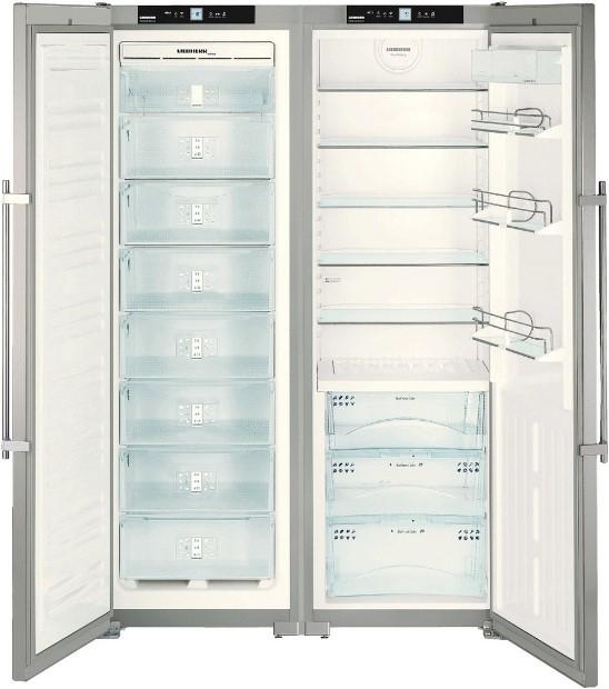 купить Side-by-side холодильник Liebherr SBSes 7253 Украина фото 3
