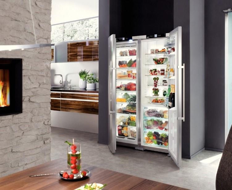 купить Side-by-side холодильник Liebherr SBSes 7253 Украина фото 5
