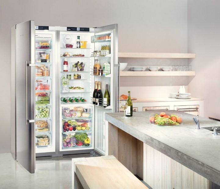 купить Side-by-side холодильник Liebherr SBSes 7253 Украина фото 4
