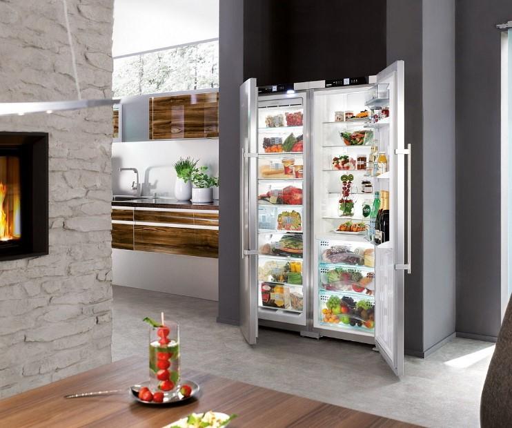 купить Side-by-side холодильник Liebherr SBSes 7263 Украина фото 2