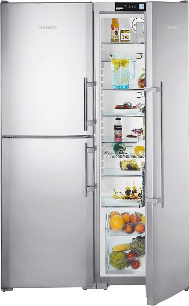 купить Side-by-Side холодильник Liebherr SBSes 7353 Украина фото 2