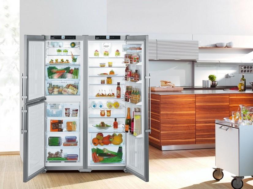 купить Side-by-Side холодильник Liebherr SBSes 7353 Украина фото 3