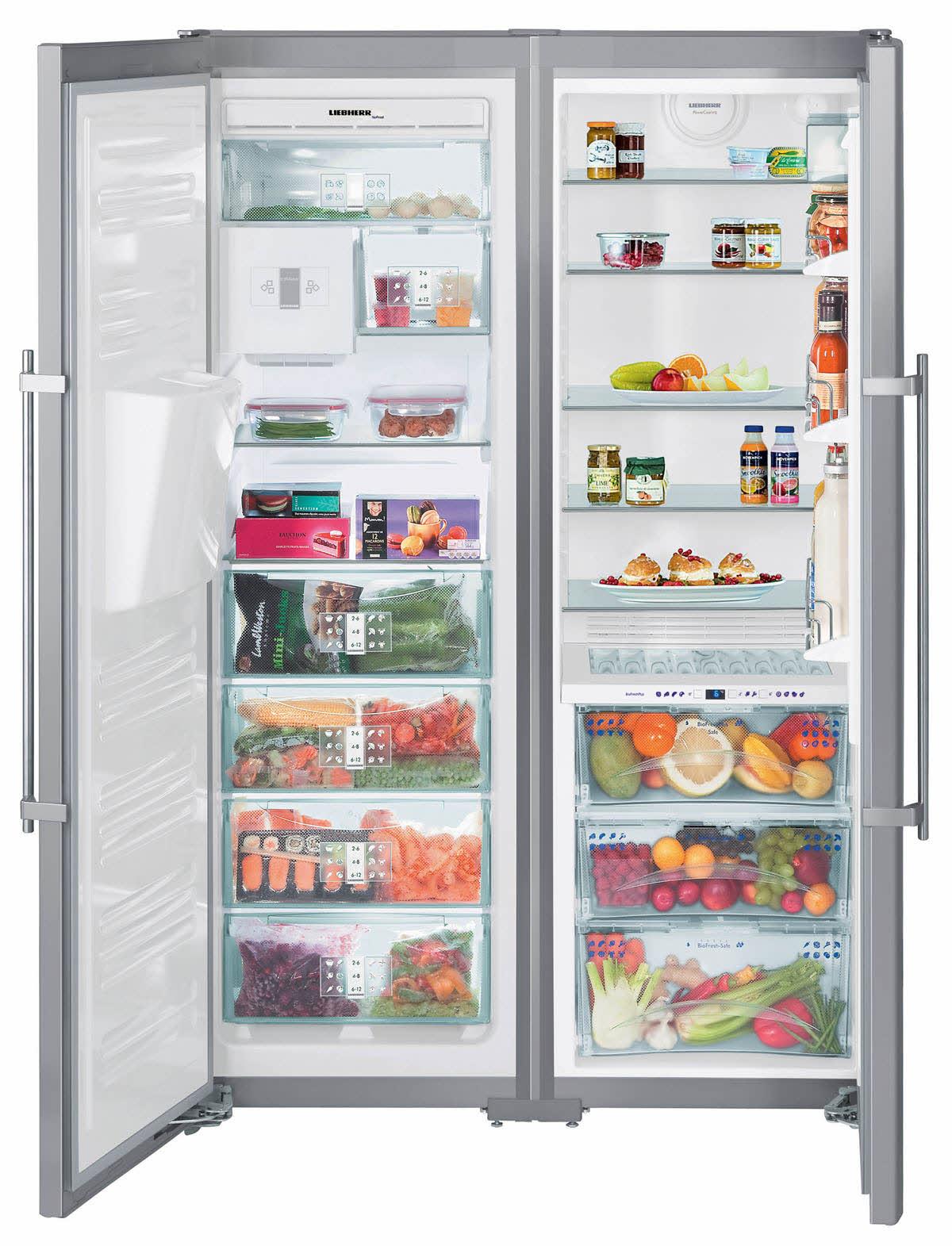купить Side-by-side холодильник Liebherr SBSes 8283 Украина фото 0