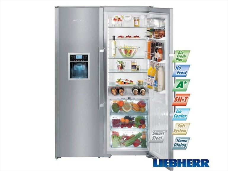 купить Side-by-side холодильник Liebherr SBSes 8283 Украина фото 1