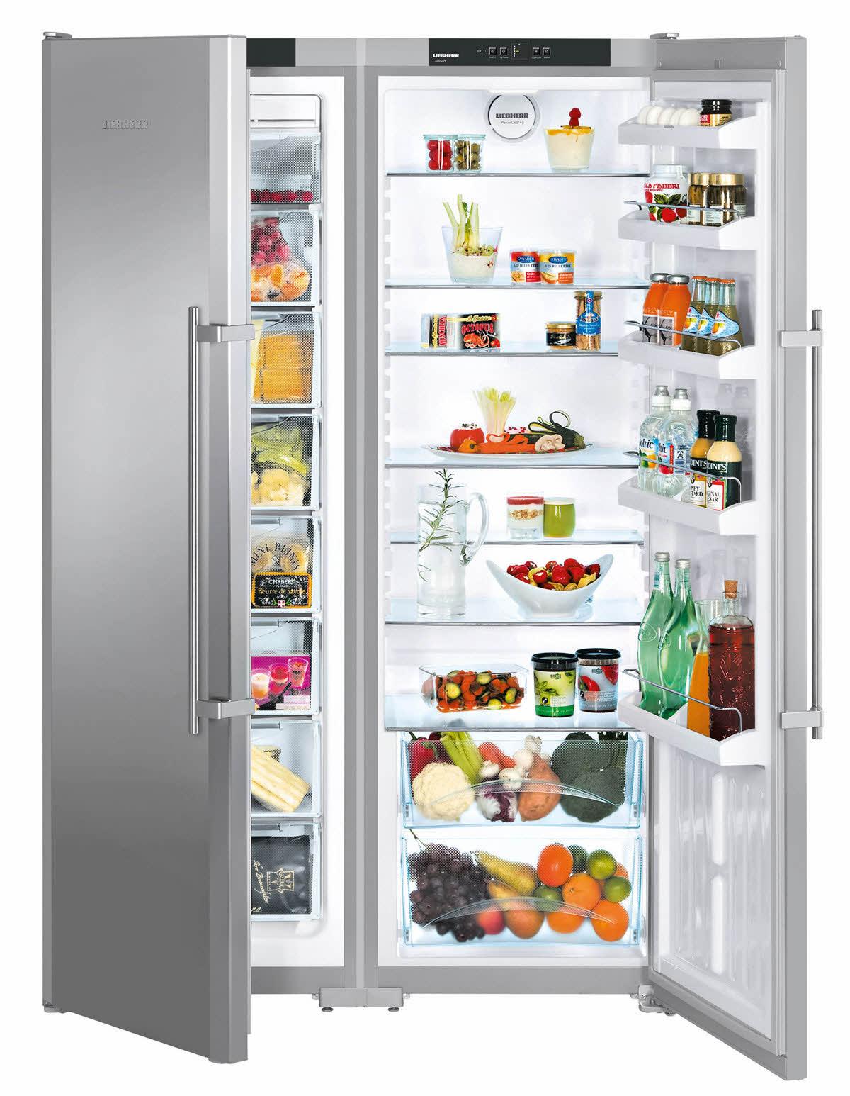 Side-by-side холодильник Liebherr SBSesf 7212 купить украина