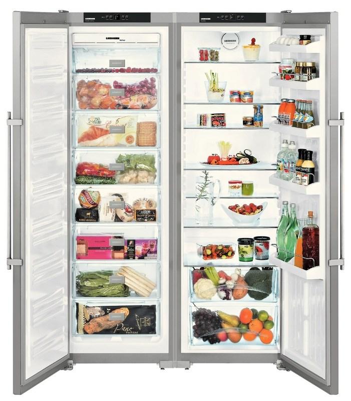 купить Side-by-side холодильник Liebherr SBSesf 7212 Украина фото 2