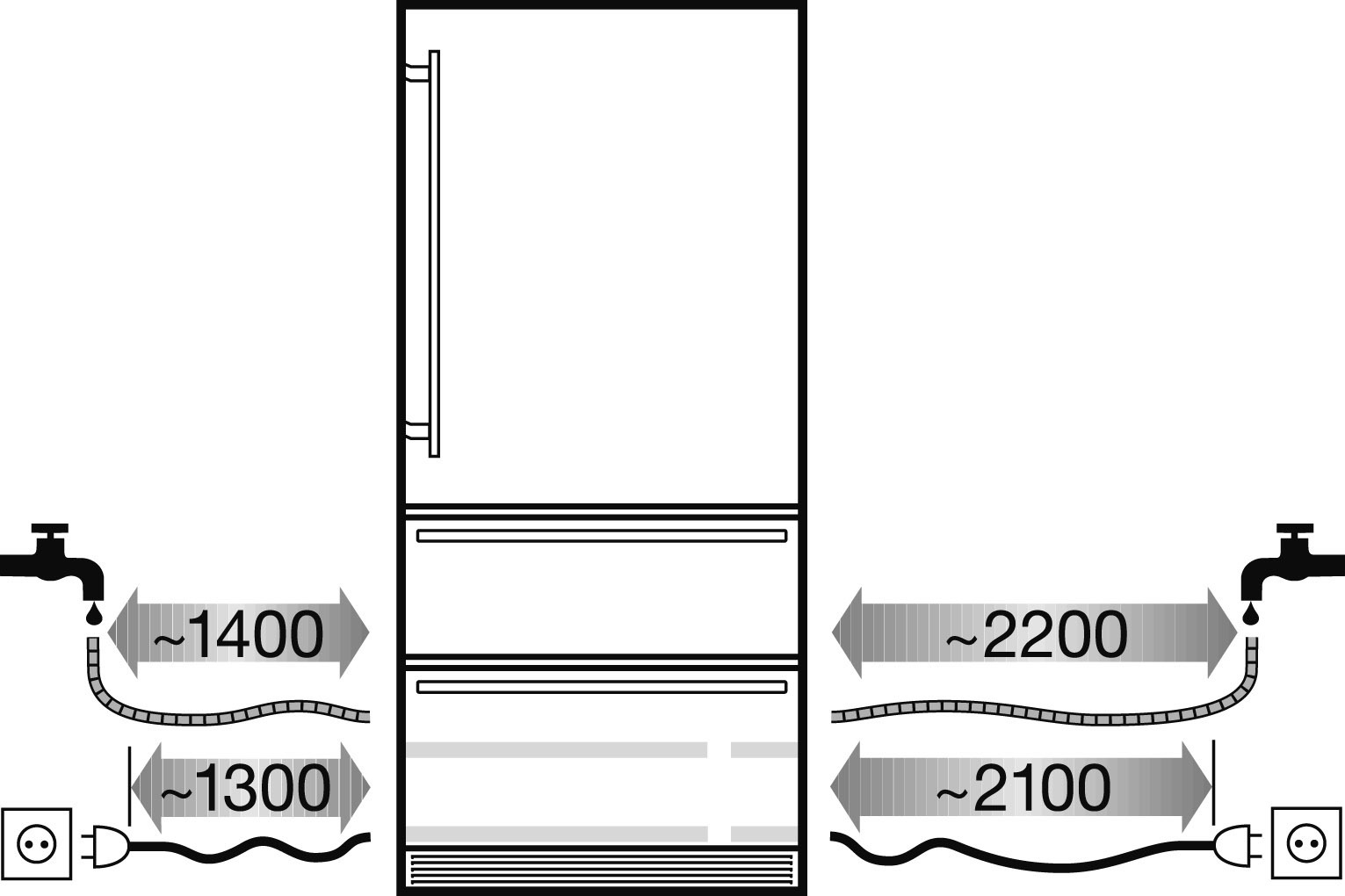 купить Встраиваемый двухкамерный холодильник Liebherr ECBN 6156 Украина фото 6