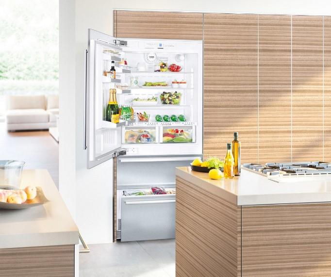 купить Встраиваемый двухкамерный холодильник Liebherr ECBN 6156 Украина фото 4