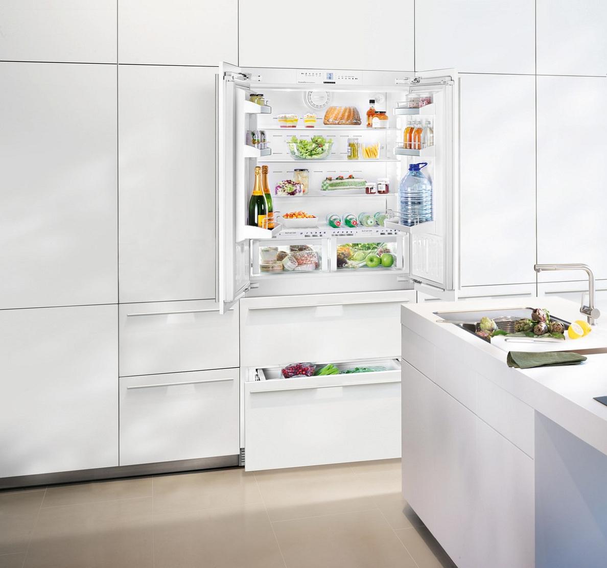купить Встраиваемый двухкамерный холодильник Liebherr ECBN 6256 Украина фото 2