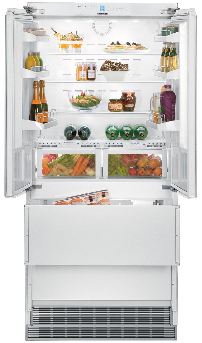 Встраиваемый двухкамерный холодильник Liebherr ECBN 6256 купить украина