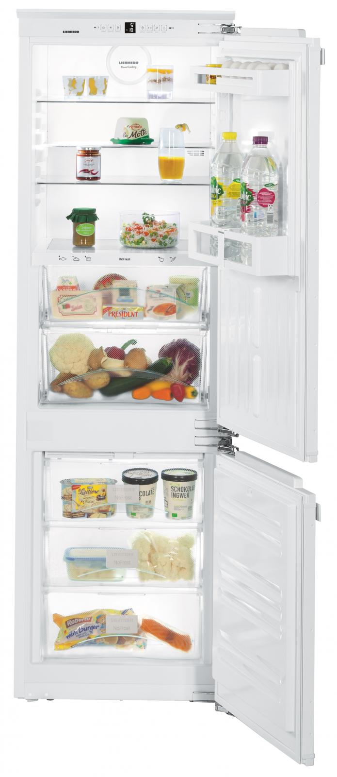 Встраиваемый двухкамерный холодильник Liebherr ICBN 3324 купить украина