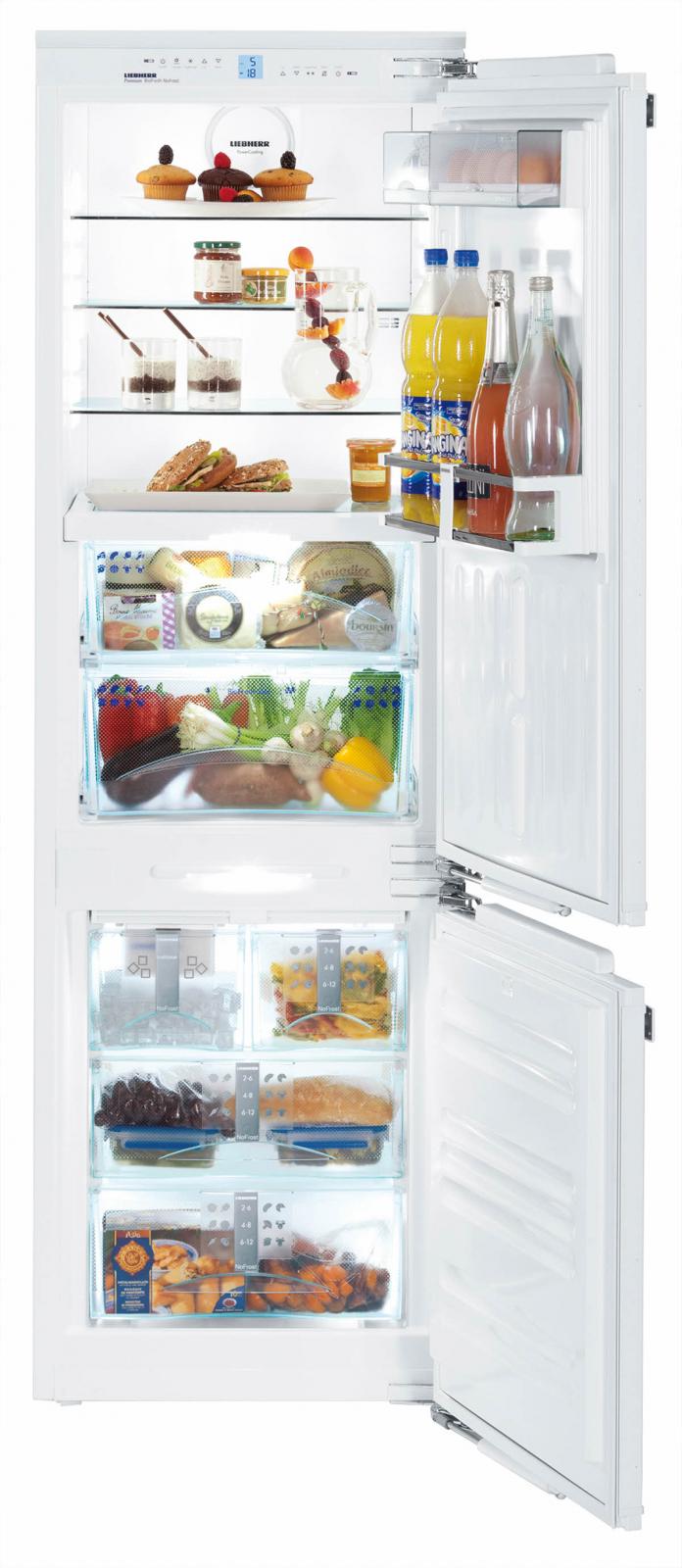 купить Встраиваемый двухкамерный холодильник Liebherr ICBN 3366 21 Украина фото 3