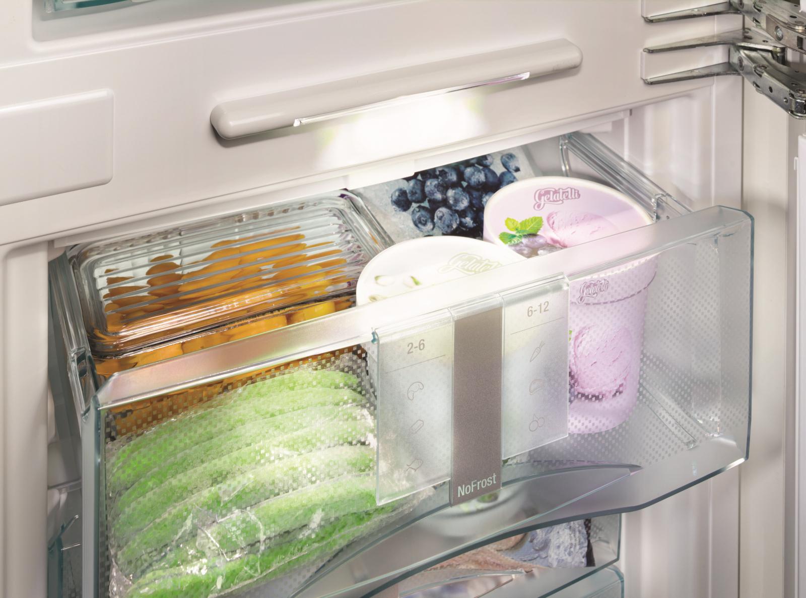 купить Встраиваемый двухкамерный холодильник Liebherr ICN 3376 Украина фото 10