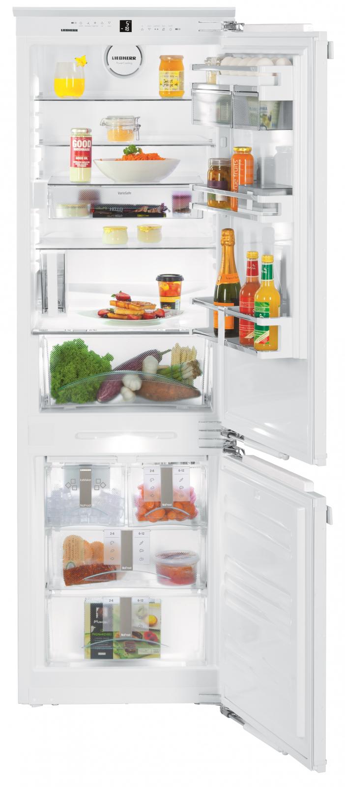 Встраиваемый двухкамерный холодильник Liebherr ICN 3386 купить украина