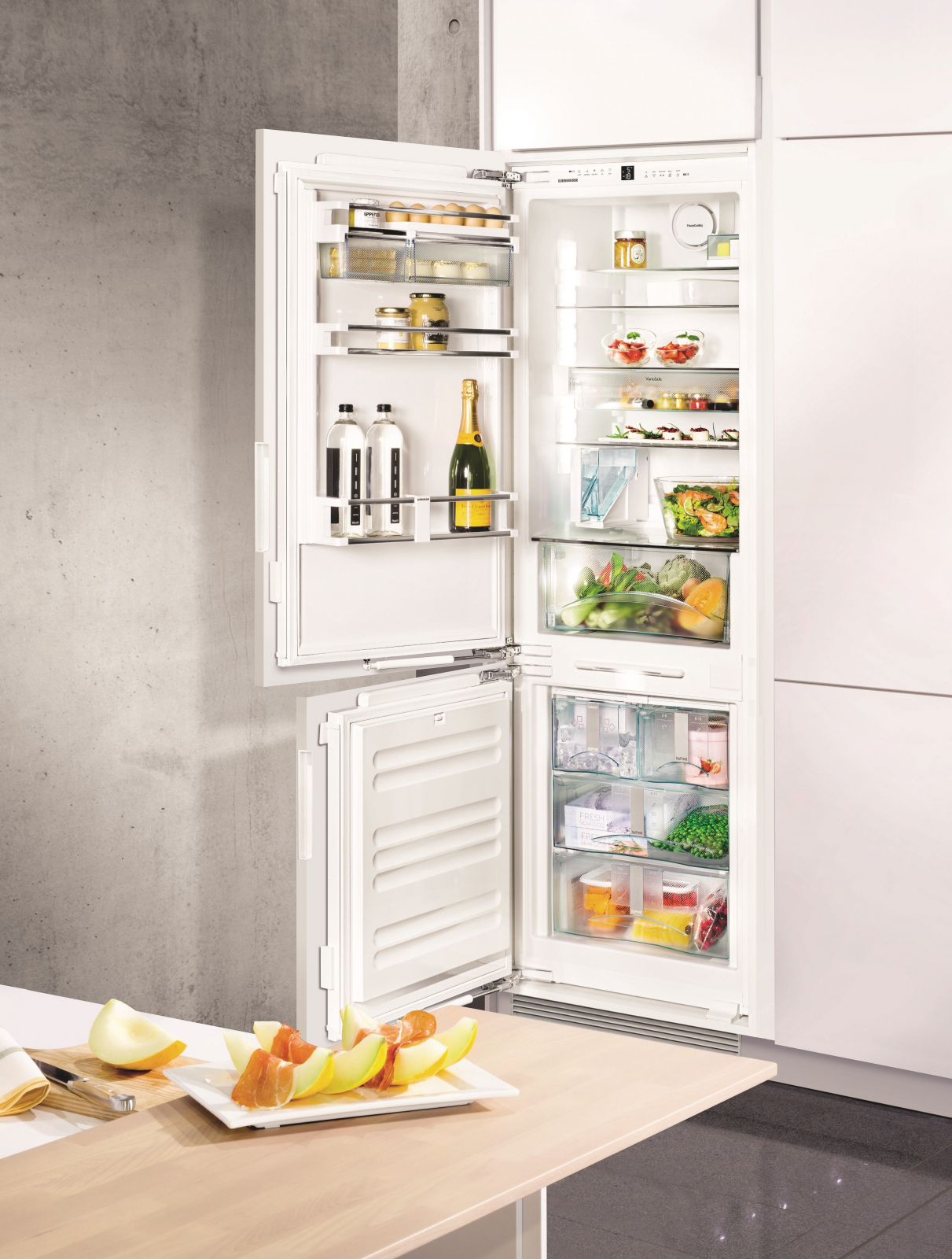 купить Встраиваемый двухкамерный холодильник Liebherr ICN 3386 Украина фото 5