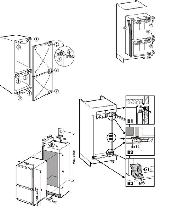 купить Встраиваемый двухкамерный холодильник Liebherr ICU 3252 Украина фото 1