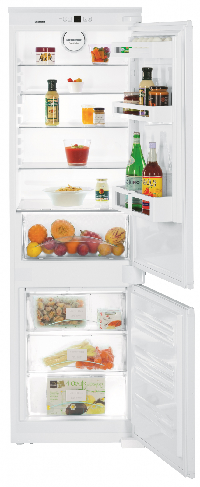 Встраиваемый двухкамерный холодильник Liebherr ICUNS 3324 купить украина