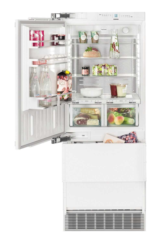 Встраиваемый двухкамерный холодильник Liebherr ECBN 5066 617 купить украина