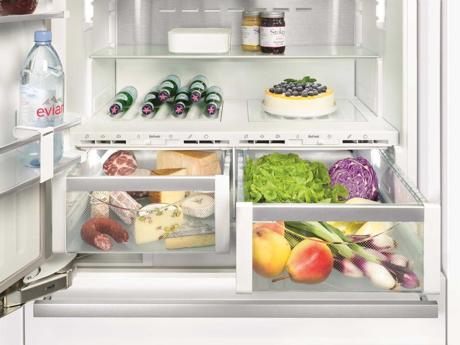 купить Встраиваемый двухкамерный холодильник Liebherr ECBN 6156 Украина фото 2