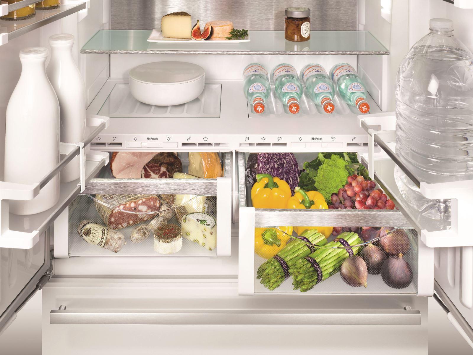 купить Встраиваемый двухкамерный холодильник Liebherr ECBN 6256 Украина фото 14