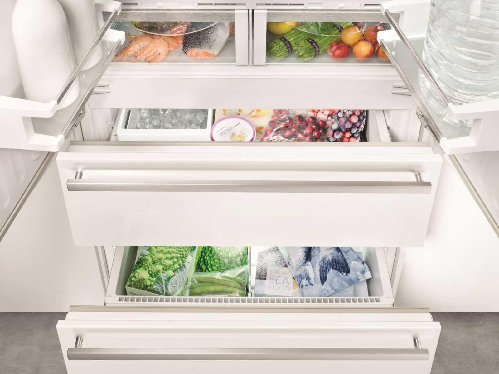 купить Встраиваемый двухкамерный холодильник Liebherr ECBN 6256 Украина фото 6