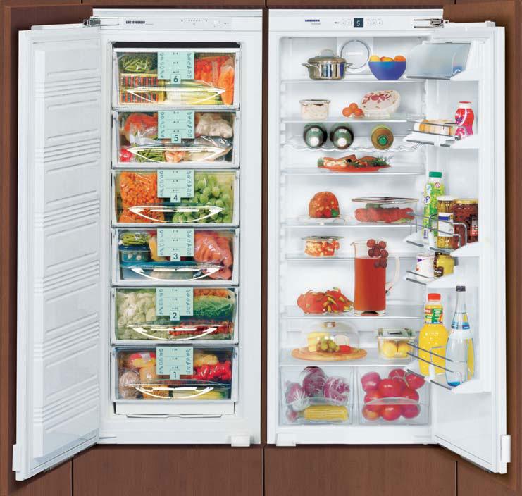 купить Встраиваемый холодильник Side-By-Side Liebherr SBS 47I2 Украина фото 0
